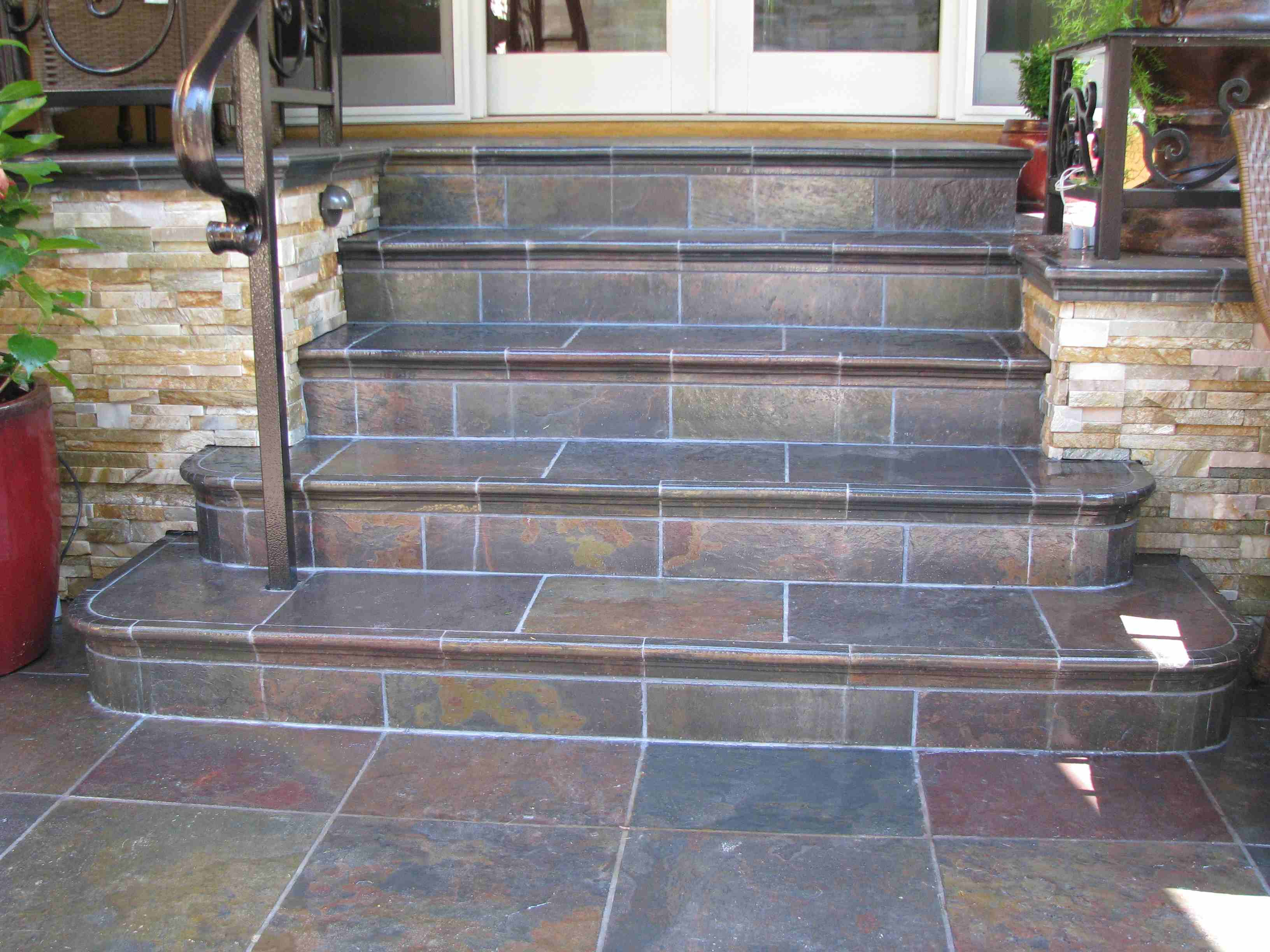 Superbe Can You Tile Over Tile Wall In Scenic Can You Put Patio Tiles Over Gr  Outdoor Decoration Outdoor Patio Tiles Over Concrete Although Considerable  Fireplace I ...